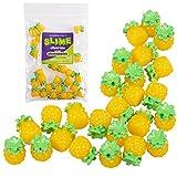 #1: Maddie Rae's Slime Charms, Pineapple 25 pcs of Slime Beads