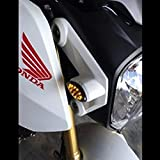 Perfect-fit-20132019-Honda-Grom-Front-Amber-Flush-12-LED-Turn-Signals-Blinkers-Pack-of-2