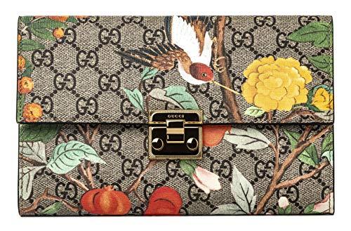 Gucci GG Tian CLUTCH Bag Flowers Hummingbird Bird Signature Box New