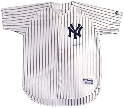 Derek Jeter Signed NY Yankees Home Authentic  2 Jersey Steiner Sports Holo    MLB Holo 621458d9828