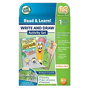 LeapFrog Labs - Tag Learn to Write & Draw - YouTube