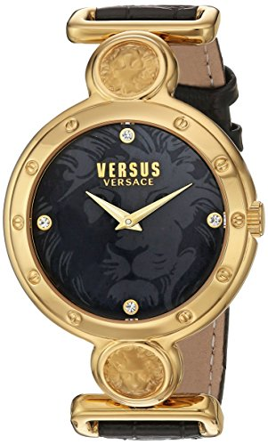 Versus by Versace Women's SOL040015 SUNNYRIDGE Analog Display Quartz Black Watch