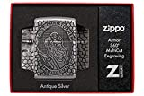 Zippo Armor St. Christopher Metal Design Pocket