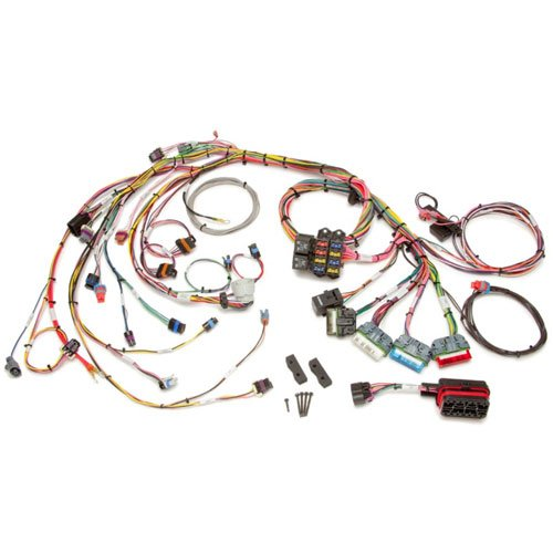 Painless Wiring 60213 Fuel Injection Wiring Harness Extra Length Incl. Mounting Hardware Crimp On Terminals Fuel Injection Wiring Harness (Injection Wiring Painless Fuel)