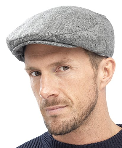 Tom Franks Mens Traditional Flat Cap  Amazon.co.uk  Clothing 6a158a64b9e8