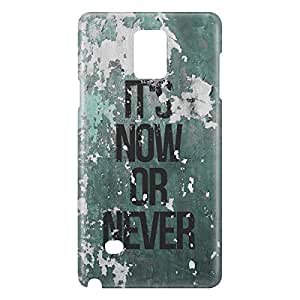 Loud Universe Galaxy Note 5 Its Now Or Never Print 3D Wrap Around Case - Green