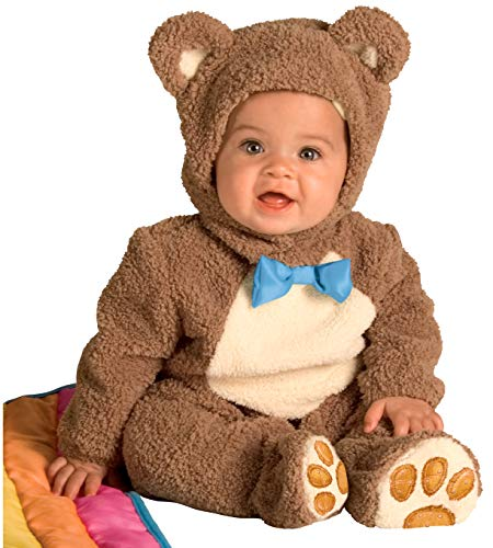 Bear Halloween Costumes For Toddlers (Rubie's Infant Noah Ark Collection Oatmeal Bear Jumpsuit, Brown/Beige, 18-24)