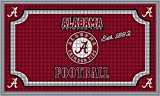 Team Sports America 41EM924 Alabama Embossed Door Mat, Multicolor