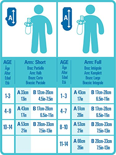 Bloccs Child Short Arm Waterproof Cast Cover
