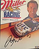 Rusty Wallace Signed Photo - 8x10 Hall Of Fame - Autographed Photos