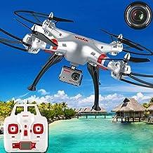 Syma X8G 2.4G 4CH with 8MP HD Camera Headless Mode RC Quadcopter FPV Drone