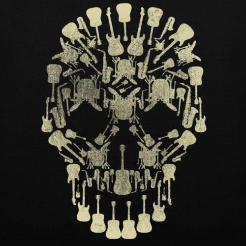 Hobby Instruments Tote Music Black Spreadshirt Skull Bag Musical qRFwtnI