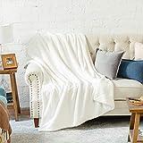 Bedsure Sherpa Fleece Blanket Twin Size Black Plush