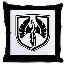 Jumkim Fiero Stuff Throw Pillow Case Cushion Cover 18 x 18 inches
