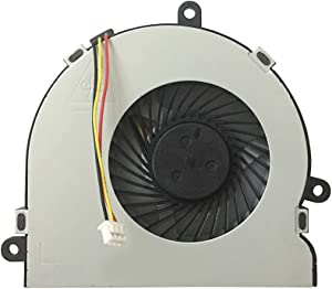 PYDDIN Cooling Fan Replacement for Dell Inspiron 3521 3537 3721 5521 5535 5537 5721 5737 N3521 N5521 N5537 Fan 074X7K, Compatible with HP Pavillion 15-G 15-R HP 250 246 G3 Series 753894-001 (3-Wire)