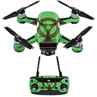 Skin for DJI Spark Mini Drone Combo - Biohazard| MightySkins Protective, Durable, and Unique Vinyl Decal wrap cover | Easy To Apply, Remove, and Change Styles | Made in the USA