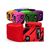 Sanabul Boxing Handwraps Elastic 180 inch Red