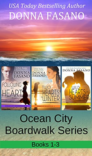 The Ocean City Boardwalk Series, Books 1-3 cover