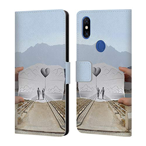 Official Ben Heine Love 2 Pencil Vs Camera Leather Book Wallet Case Cover Compatible for Xiaomi Mi Mix 3