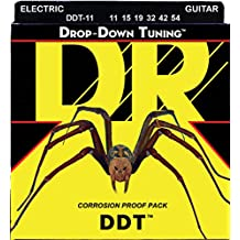 DR Strings DDT-11 Nickel Plated Electric Guitar Strings, Heavy