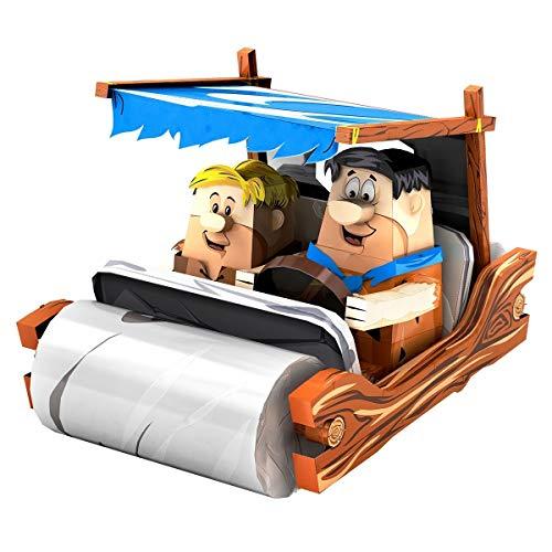 Fascinations Metal Earth Flintstones Car 3D Metal Model Kit