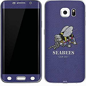 US Navy Galaxy S6 Edge Skin - Seabees Can Do Vinyl Decal Skin For Your Galaxy S6 Edge by Skinit