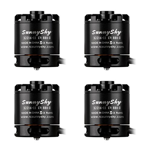 Sunnysky Brushless Motor Fpv Motor X2216 880KV for Multicopter F450 F550 F500 4PCS