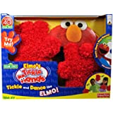 Fisher Price Celebrating 40 Years Sesame Street 123 Accessory Gloves - ELMO's TICKLE HANDS with Shakes and Giggles Plus Silly Sounds and Fun Phrases with Bonus DVD