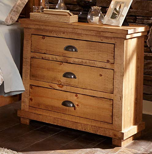 Mikash Willow 3 Drawer Nightstand | Model NGHTSTND - 173 | (Rugs Ikea Richmond)