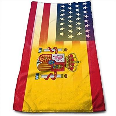 Hipiyoled EE. UU. España Bandera Toalla de Microfibra Multiusos ...
