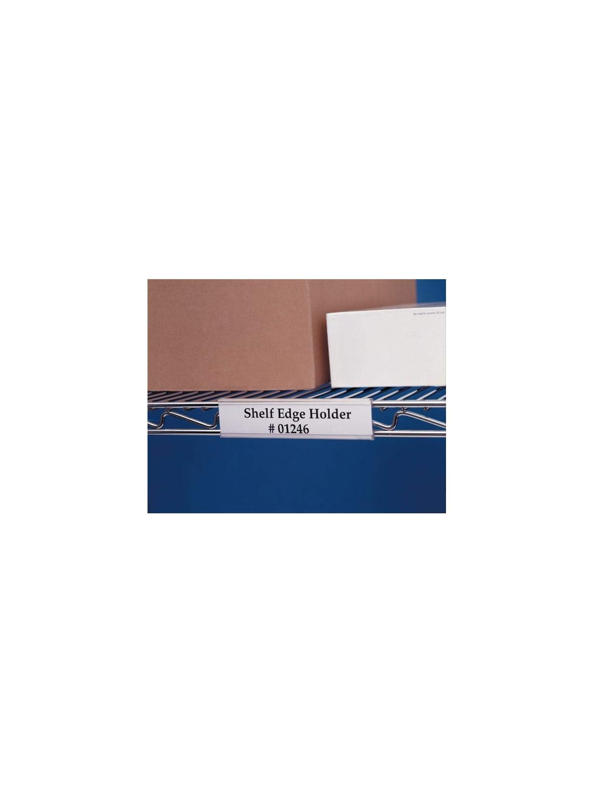 Aigner Label Holder - Aigner Wire-Rac Label Holders 3''L. 25 per pk - WR-1253 by Aigner Label Holder