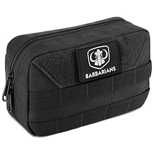Barbarians Tactical Admin Pouch Military MOLLE Pouch Tools Map Magazine