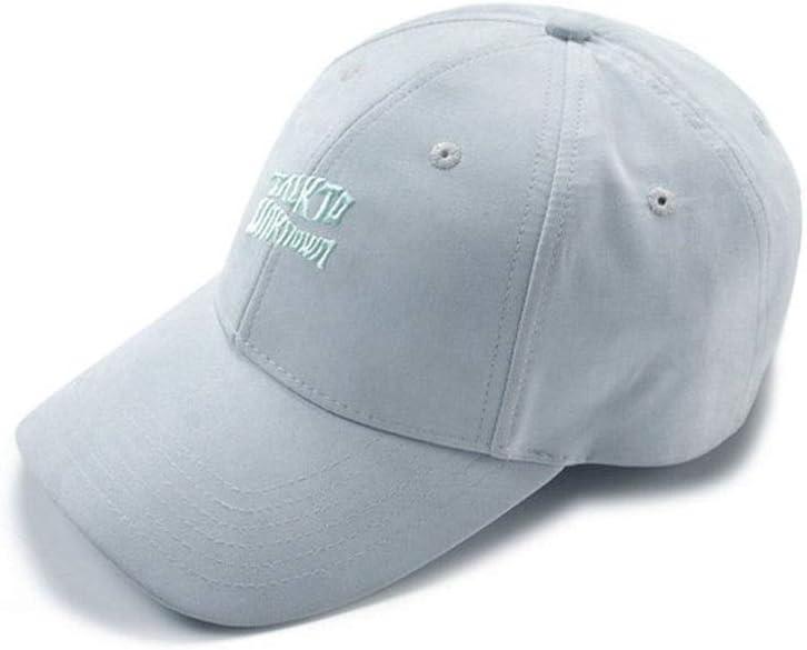 HUCHAOQIXIU 野球帽、カジュアルドーム野球帽アウトドアスポーツサンバイザー、ホワイト。
