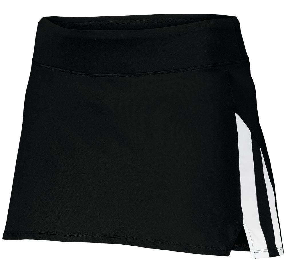 Augusta Sportswear Girls Full Force Skort M Black/White by Augusta Sportswear