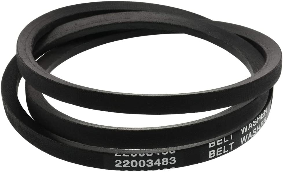 22003483 Washer Drive Belt Replacement,for Whirlpool Maytag Dryers,Replaces Part WP22003483 AP6006365 PS11739438 22002709 by AUKO