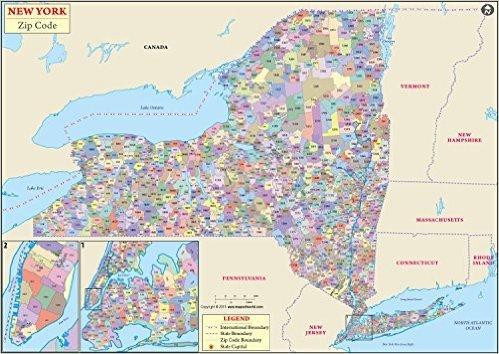 New York Zip Code Map (36