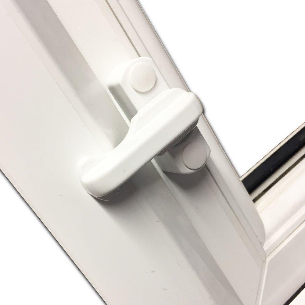 Sash Jammers Extra Security Locks For Upvc Window Doors White