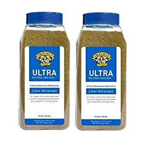 2 Pack! Dr. Elsey's Cat Attract Litter Additive (20 oz) 85