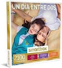 SMARTBOX, Caja Regalo, UN DÍA ENTRE DOS, 2100 Experiencias como Masajes, Cenas de Tapeo, Buceo y Mucho más
