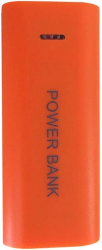 Winkey - Caja de batería externa para iPhone Sumsang, 5600 mAh, 2 baterías 18650 USB: Amazon.es: Electrónica