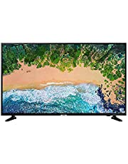 Samsung UE65NU7090UXZT Smart TV UHD, DVB-T2CS2, LED-serie 7 met HDR powered by HDR10, 65 inch display, resolutie 3840 × 2160, Clean Cable, zwart (Glossy Black), zonder installatie
