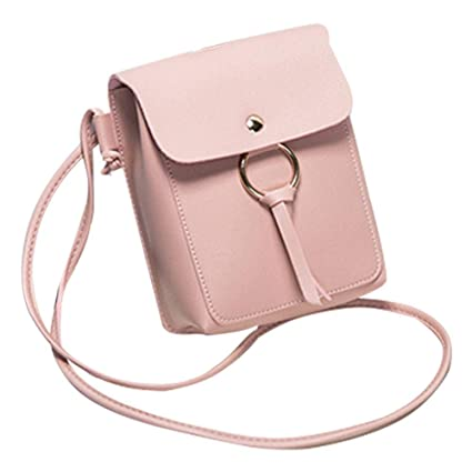 Image Unavailable. Image not available for. Color  iShine 2018 Ladies  Designer Functional Multi Pocket Tassel Mini Mobile Phone Change Purses  Crossbody ... 1f4f5745b6d2f