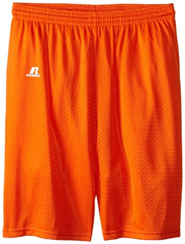 russell-athletic-big-boys-youth-mesh-short-burnt-orange-medium