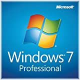 Microsoft Windows 7 Professional 64 bit DVD sofware with COA and keycode
