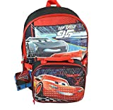 Disney Pixar Cars 3 16 Backpack with Lunch KitPrism Printing