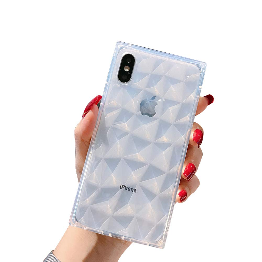Amazon Com Wymbc Iphone X Iphone Xs Case Square Diamond