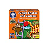 Orchard Toys Jungle Snakes Ladders Mini / Travel Game