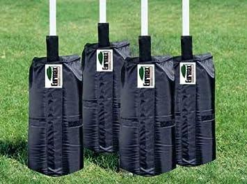 Conjunto de bolsas de arena para sombrilla (15 kg): Amazon ...