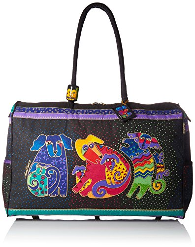 Laurel Burch Artistic Totes Travel Bag, Dogs and Doggies
