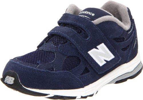 New Balance - - Unisex-Baby 990v3 Infant Laufschuhe, EUR: 17 EUR - Width W, Navy with Grey